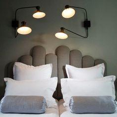 Tête de lit / hotel paradis Paris