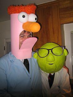Halloween costumes-Bunsen and Beaker