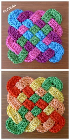 How to Crochet a Solid Granny Square - Crochet Ideas Crochet Celtic Knot Square. How to Crochet a Solid Granny Square – Crochet Ideas Crochet Celtic Knot Square Free Pattern Granny Square Crochet Pattern, Crochet Squares, Crochet Blanket Patterns, Crochet Granny, Crochet Stitches, Granny Squares, Afghan Patterns, Knitting Patterns, Free Knitting
