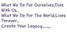 Legacy...