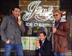 The icecream is just as good as they say. @MrSilverScott @Drew Scott