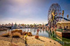 Pierfect day to stroll along the boardwalk! #ParadisePier #MickeysFunWheel (Photo: @eddison_esteban) by disneyland