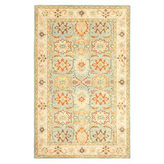 Transform your den, dining room, or master suite into a  bohemian retreat with this beautiful rug, showcasing an exotic-inspired motif and artfully crafted d...