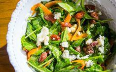 Receitas da Carolina - 2 temporada - Folhas - Salada de cenoura, rcula e roquefort (Foto: Robert Schwenck)