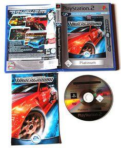 Need For Speed: Underground für Playstation 2 in OVP!