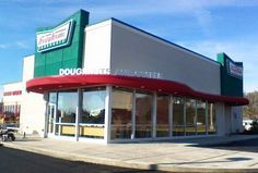 Who wants a Krispy Kreme donut! Hot sign is ON in Pigeon Forge!