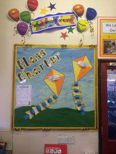 Class charter display Class Displays, Classroom Displays, Classroom Decor, Class Charter Display, Rights Respecting Schools, Rights And Responsibilities, Pre School, We The People, Projects To Try