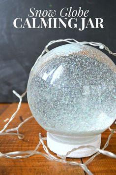 DIY Calming Glitter Jar (with video)