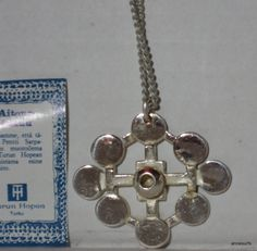 Star Ring, Finland, Bronze Pendant, Pendant Design, Silver Plate, Hanger, Vintage Items, Plating, Pendants