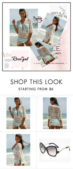 """""""Rosegal 16"""" by divi121314 ❤ liked on Polyvore featuring Lara, swimwear, women and rosegal"""