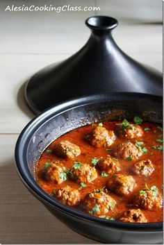 Meatball tagine with lemon & olives is one of the most popular moroccan recipe.It is an easy authentic moroccan recipe.