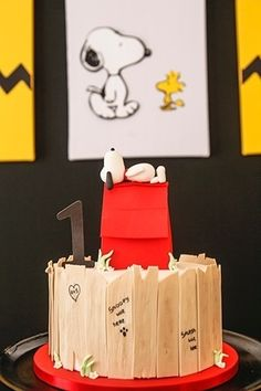 Nostálgico com o filme do Snoopy? Decore a festa infantil com o personagem