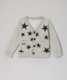 Gray Star Cardigan by Ottomatic