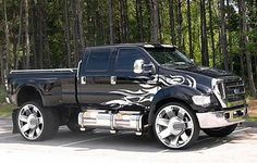 Huge Custom Ford F650