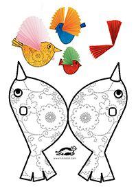 Paper BIRDS | krokotak