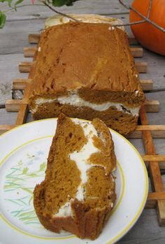 Pumpkin cream bread (second to last recipe on site)