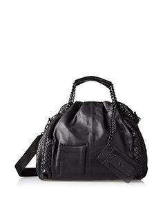L.A.M.B. Women's Ember Shoulder Bag, Black