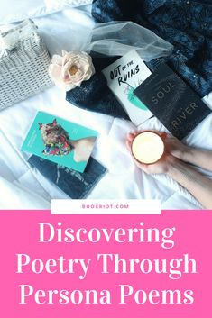 Discovering poetry through persona poems. how to | poetry | reading poetry | persona poems | #poetry #christinamrau