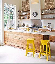 Brabourne Farm: Love .... Kitchen Stools