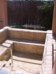 Home made hot tub