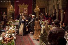 Medieval party in Castillan Court in Isabel (TVE). #IsabelTve #IsabellaOfCastile #IsabelLaCatolica #Medieval #Queen #King