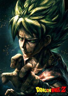 Dragon Ball Z Goku by SantaFung on deviantART