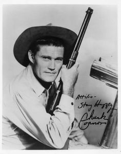Chuck Conners in The Rifleman.  He's my old western crush!!!