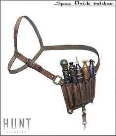 hunt pockets, Timur Mutsaev on ArtStation at https://www.artstation.com/artwork/Xrgma