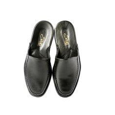 Luxury black leather slippers Black leather Men's Leather sole Made in Turkey These shoes run small, we recommend sizing up half a size Leather Slippers, Mens Slippers, Leather Men, Black Leather, Bedroom Slippers, Mens Designer Shoes, Leather Design, Clarks, Loafers Men