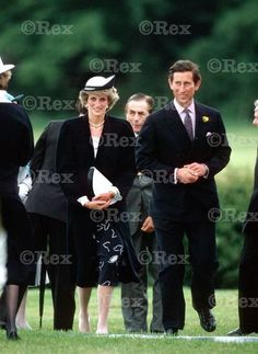 June 27 1985 Diana and Charles visit Loughborough in Leicestershire