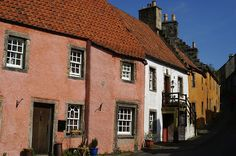 Royal Burgh of Culross, a small town that has hardly changed since the 17th century. The Town House (built in 1648) still features a witches' prison.