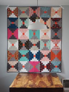 Image of READY TO SHIP - Courthouse Steps Quilt