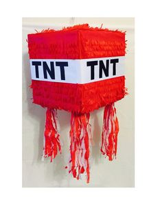 Hey, I found this really awesome Etsy listing at https://www.etsy.com/listing/215679457/ready-to-ship-out-tnt-pinata-red-color
