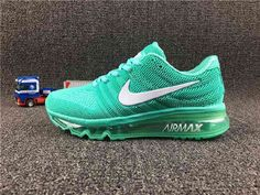 brand new 2fd94 211ad Nike Air Max 2017 Gree White for Women(36-40) Outlet Nike Air