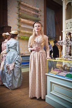 Denise Lovett - Joanna Vanderham in The Paradise, set in the 1870s (BBC TV series 2012-2013).
