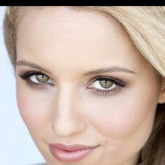 Dianna agron..i want her eyes!