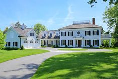 The Federal style, which evolved from Georgian, also follows a strict symmetry — yet gave way to creative floor plans with elliptical and round spaces. This 2008-built residence in Harding Township's prestigious Hartley Farms, blends both Federal and Colonial touches on a private 3.3 acres and includes a new carriage bonus room, formal living room, a dining room and cocktail room, open kitchen, a sun-drenched solarium and more.