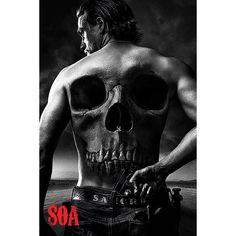 Jax Back - Plakat - Sons Of Anarchy