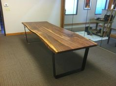 live edge table from denali furniture