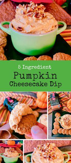 5 Ingredient Pumpkin Cheesecake Dip - ad