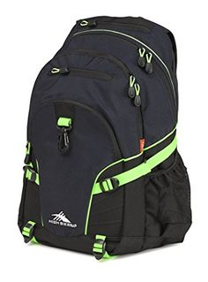 High Sierra Loop Backpack Midnight BlueBlackLime ** Check out this great product.
