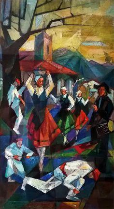 Jose Kareaga-Dantzariak Basque Country, Figure Painting, Sheep, Carving, Texture, Artwork, Character, Inspiration, Ideas