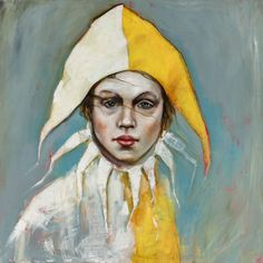 Kai Fine Art is an art website, shows painting and illustration works all over the world. Haunted Circus, Pierrot Clown, Kai, Rabbit Art, Easter Art, Cool Paintings, Art Dolls, Art Decor, Contemporary Art
