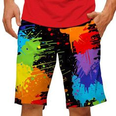 Paint Balls Mens Golfing Shorts by Loudmouth Golf.  Buy it @ ReadyGolf.com