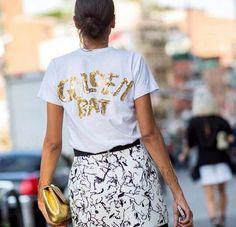 Camiseta +falda