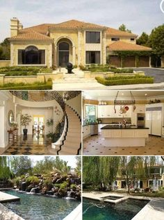 I'm  obsessed with all these mansions!!