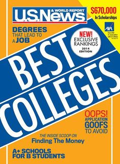 Best Colleges 2014 Review and Discount- a must read for parents of/and high school students