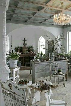 Philanthropic described diy shabby chic home decor find Shabby Chic Kitchen, Vintage Shabby Chic, Shabby Chic Homes, Shabby Chic Style, French Country Style, Country Chic, Country Life, Country Farmhouse, French Decor