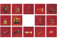 Advent Calendar, Color Schemes, Holiday Decor, Red, Home Decor, Life, R Color Palette, Decoration Home, Room Decor