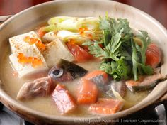 Ishikari nabe #Hokkaido #JapanWeek  Subscribe today to our newsletter for a chance to win a trip to Japan http://japanweek.us/news  Like us on Facebook: https://www.facebook.com/JapanWeekNY